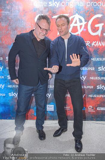 Kinopremiere ´8 Tage´ - Urania Kino Wien - Do 14.02.2019 - Mark WASCHKE, Stefan RUZOWITZKY47