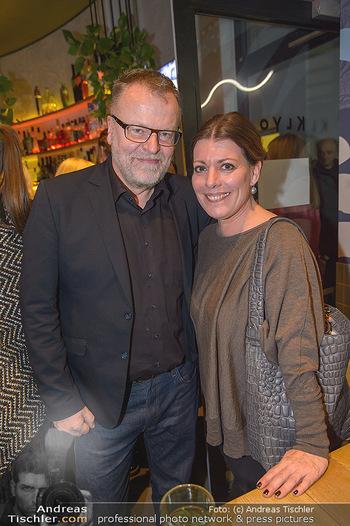 Kinopremiere ´8 Tage´ - Urania Kino Wien - Do 14.02.2019 - Stefan RUZOWITZKY mit Ehefrau Birgit133