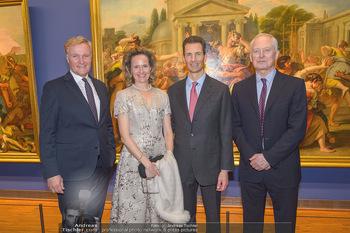 Rubens bis Makart Ausstellungseröffnung - Albertina, Wien - Fr 15.02.2019 - Klaus Albrecht SCHRÖDER, Fürst Hans ADAM II, Alois und Sophie 1