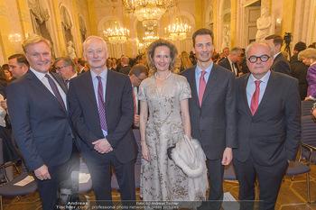 Rubens bis Makart Ausstellungseröffnung - Albertina, Wien - Fr 15.02.2019 - Klaus Albrecht SCHRÖDER, Fürst Hans ADAM II, Alois und Sophie 2