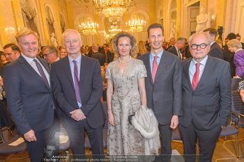 Rubens bis Makart Ausstellungseröffnung - Albertina, Wien - Fr 15.02.2019 - Klaus Albrecht SCHRÖDER, Fürst Hans ADAM II, Alois und Sophie 3