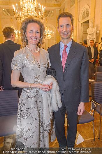 Rubens bis Makart Ausstellungseröffnung - Albertina, Wien - Fr 15.02.2019 - Alois und Sophie VON UND ZU LIECHTENSTEIN10