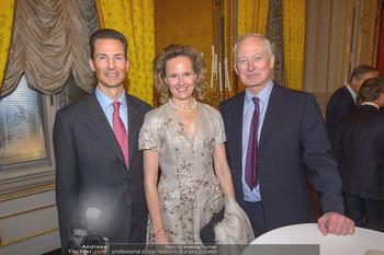 Rubens bis Makart Ausstellungseröffnung - Albertina, Wien - Fr 15.02.2019 - Fürst Hans ADAM II, Alois und Sophie VON UND ZU LIECHTENSTEIN21