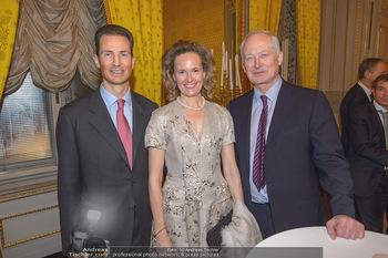 Rubens bis Makart Ausstellungseröffnung - Albertina, Wien - Fr 15.02.2019 - Fürst Hans ADAM II, Alois und Sophie VON UND ZU LIECHTENSTEIN22