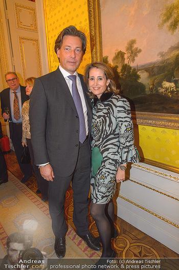 Rubens bis Makart Ausstellungseröffnung - Albertina, Wien - Fr 15.02.2019 - Matthias WINKLER, Alexandra Ali GÜRTLER25
