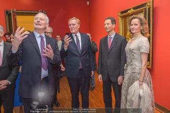 Rubens bis Makart Ausstellungseröffnung - Albertina, Wien - Fr 15.02.2019 - Klaus Albrecht SCHRÖDER, Fürst Hans ADAM II, Alois und Sophie 30