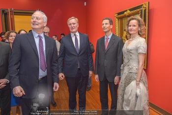 Rubens bis Makart Ausstellungseröffnung - Albertina, Wien - Fr 15.02.2019 - Klaus Albrecht SCHRÖDER, Fürst Hans ADAM II, Alois und Sophie 31
