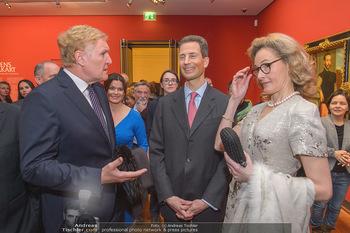 Rubens bis Makart Ausstellungseröffnung - Albertina, Wien - Fr 15.02.2019 - Klaus Albrecht SCHRÖDER, Alois und Sophie VON UND ZU LIECHTENST35