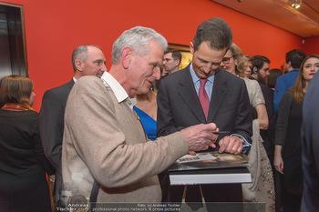 Rubens bis Makart Ausstellungseröffnung - Albertina, Wien - Fr 15.02.2019 - Alois VON UND ZU LIECHTENSTEIN gibt Autogramme45