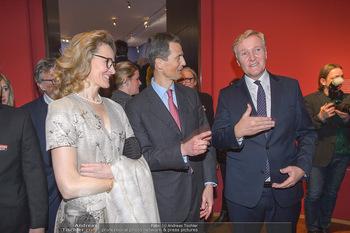Rubens bis Makart Ausstellungseröffnung - Albertina, Wien - Fr 15.02.2019 - Klaus Albrecht SCHRÖDER, Alois und Sophie VON UND ZU LIECHTENST53
