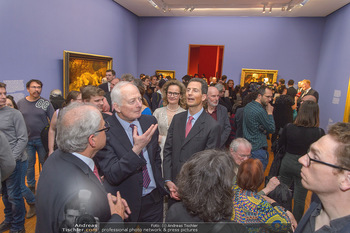 Rubens bis Makart Ausstellungseröffnung - Albertina, Wien - Fr 15.02.2019 - Fürst Hans ADAM II, Alois und Sophie VON UND ZU LIECHTENSTEIN57