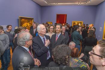 Rubens bis Makart Ausstellungseröffnung - Albertina, Wien - Fr 15.02.2019 - Fürst Hans ADAM II, Alois und Sophie VON UND ZU LIECHTENSTEIN58