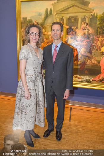 Rubens bis Makart Ausstellungseröffnung - Albertina, Wien - Fr 15.02.2019 - Alois und Sophie VON UND ZU LIECHTENSTEIN73