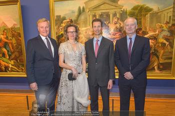 Rubens bis Makart Ausstellungseröffnung - Albertina, Wien - Fr 15.02.2019 - Klaus Albrecht SCHRÖDER, Fürst Hans ADAM II, Alois und Sophie 75