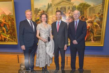 Rubens bis Makart Ausstellungseröffnung - Albertina, Wien - Fr 15.02.2019 - Klaus Albrecht SCHRÖDER, Fürst Hans ADAM II, Alois und Sophie 76