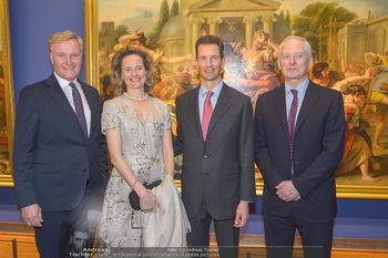 Rubens bis Makart Ausstellungseröffnung - Albertina, Wien - Fr 15.02.2019 - Klaus Albrecht SCHRÖDER, Fürst Hans ADAM II, Alois und Sophie 77