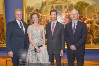 Rubens bis Makart Ausstellungseröffnung - Albertina, Wien - Fr 15.02.2019 - Klaus Albrecht SCHRÖDER, Fürst Hans ADAM II, Alois und Sophie 78
