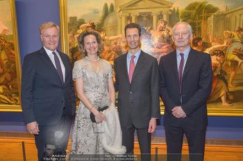 Rubens bis Makart Ausstellungseröffnung - Albertina, Wien - Fr 15.02.2019 - Klaus Albrecht SCHRÖDER, Fürst Hans ADAM II, Alois und Sophie 79