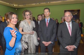 Rubens bis Makart Ausstellungseröffnung - Albertina, Wien - Fr 15.02.2019 - Alois und Sophie VON UND ZU LIECHTENSTEIN, Adrian und Gudrun HAS91
