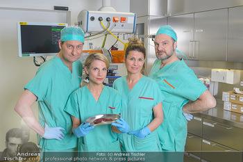 Fotoshooting zu ´Die Niere´ - Krankenhaus - Mo 18.02.2019 - Kristina SPRENGER, Doris HINDINGER, Alexander JAGSCH, Martin LEU9
