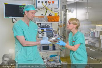 Fotoshooting zu ´Die Niere´ - Krankenhaus - Mo 18.02.2019 - Kristina SPRENGER, Alexander JAGSCH12