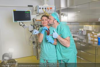 Fotoshooting zu ´Die Niere´ - Krankenhaus - Mo 18.02.2019 - Doris HINDINGER, Martin LEUTGEB16