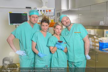 Fotoshooting zu ´Die Niere´ - Krankenhaus - Mo 18.02.2019 - Kristina SPRENGER, Doris HINDINGER, Alexander JAGSCH, Martin LEU17