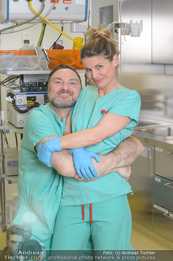 Fotoshooting zu ´Die Niere´ - Krankenhaus - Mo 18.02.2019 - Doris HINDINGER, Martin LEUTGEB19