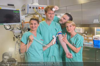 Fotoshooting zu ´Die Niere´ - Krankenhaus - Mo 18.02.2019 - Kristina SPRENGER, Doris HINDINGER, Alexander JAGSCH, Martin LEU34