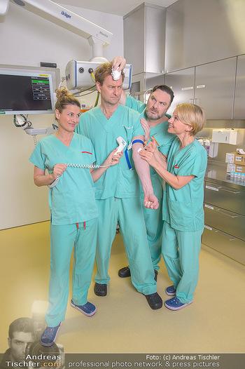 Fotoshooting zu ´Die Niere´ - Krankenhaus - Mo 18.02.2019 - Kristina SPRENGER, Doris HINDINGER, Alexander JAGSCH, Martin LEU35