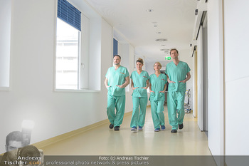 Fotoshooting zu ´Die Niere´ - Krankenhaus - Mo 18.02.2019 - Kristina SPRENGER, Doris HINDINGER, Alexander JAGSCH, Martin LEU36