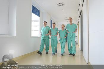 Fotoshooting zu ´Die Niere´ - Krankenhaus - Mo 18.02.2019 - Kristina SPRENGER, Doris HINDINGER, Alexander JAGSCH, Martin LEU37