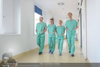 Fotoshooting zu ´Die Niere´ - Krankenhaus - Mo 18.02.2019 - Kristina SPRENGER, Doris HINDINGER, Alexander JAGSCH, Martin LEU38