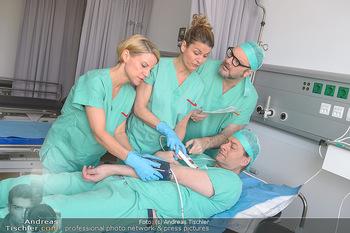 Fotoshooting zu ´Die Niere´ - Krankenhaus - Mo 18.02.2019 - Kristina SPRENGER, Doris HINDINGER, Alexander JAGSCH, Martin LEU39