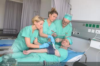 Fotoshooting zu ´Die Niere´ - Krankenhaus - Mo 18.02.2019 - Kristina SPRENGER, Doris HINDINGER, Alexander JAGSCH, Martin LEU40
