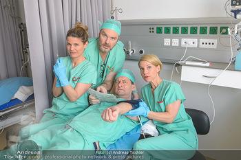 Fotoshooting zu ´Die Niere´ - Krankenhaus - Mo 18.02.2019 - Kristina SPRENGER, Doris HINDINGER, Alexander JAGSCH, Martin LEU41