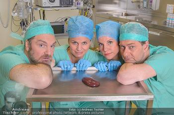 Fotoshooting zu ´Die Niere´ - Krankenhaus - Mo 18.02.2019 - Kristina SPRENGER, Doris HINDINGER, Alexander JAGSCH, Martin LEU44