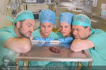 Fotoshooting zu ´Die Niere´ - Krankenhaus - Mo 18.02.2019 - Kristina SPRENGER, Doris HINDINGER, Alexander JAGSCH, Martin LEU45