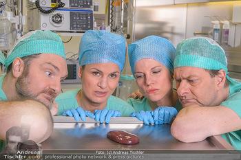 Fotoshooting zu ´Die Niere´ - Krankenhaus - Mo 18.02.2019 - Kristina SPRENGER, Doris HINDINGER, Alexander JAGSCH, Martin LEU46