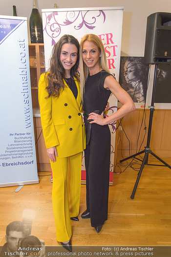 Dancer against Cancer Kalenderpräsentation - GAFA Gastgewerbeschule - Di 19.02.2019 - Kimberly BUDINSKY, Yvonne RUEFF3