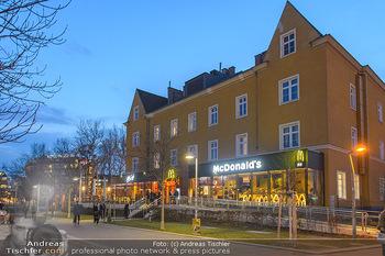 McDonalds Signature Collection - McDonalds Messe Wien - Mi 20.02.2019 - McDonalds Restaurant Messe Wien von außen1
