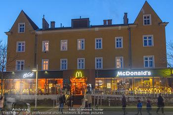 McDonalds Signature Collection - McDonalds Messe Wien - Mi 20.02.2019 - McDonalds Restaurant Messe Wien von außen2