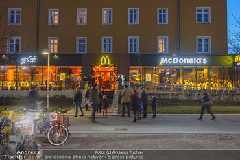 McDonalds Signature Collection - McDonalds Messe Wien - Mi 20.02.2019 - McDonalds Restaurant Messe Wien von außen3