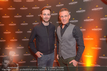 McDonalds Signature Collection - McDonalds Messe Wien - Mi 20.02.2019 - Andi KNOLL, JOSH5