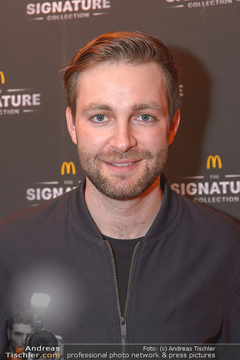 McDonalds Signature Collection - McDonalds Messe Wien - Mi 20.02.2019 - JOSH (Portrait)9