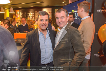 McDonalds Signature Collection - McDonalds Messe Wien - Mi 20.02.2019 - Erwin KOTANYI, Toni MÖRWALD22