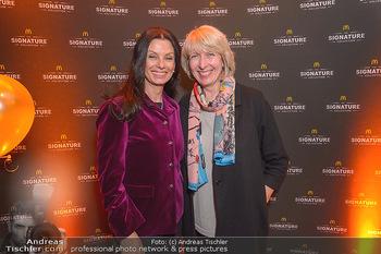 McDonalds Signature Collection - McDonalds Messe Wien - Mi 20.02.2019 - Sonja KLIMA, Isabelle KUSTER23