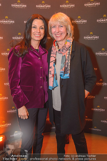 McDonalds Signature Collection - McDonalds Messe Wien - Mi 20.02.2019 - Sonja KLIMA, Isabelle KUSTER24