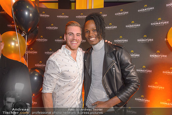McDonalds Signature Collection - McDonalds Messe Wien - Mi 20.02.2019 - Dominik KRAIHAMER, Maxwell ODERO42