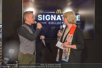 McDonalds Signature Collection - McDonalds Messe Wien - Mi 20.02.2019 - Andi KNOLL, Isabelle KUSTER47